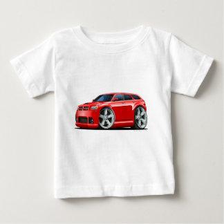 Camiseta Para Bebê Carro do vermelho do magnum de Dodge