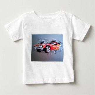 Camiseta Para Bebê Carro que deixa de funcionar através da parede
