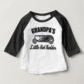 Camiseta Para Bebê Carro quente do neto do Rodder HotRod do vovô