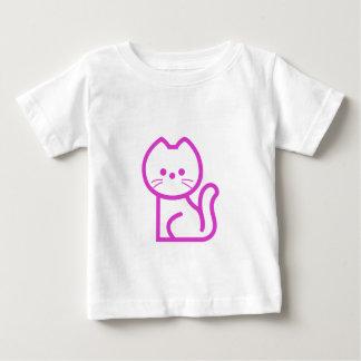 Camiseta Para Bebê carro simples do pinka