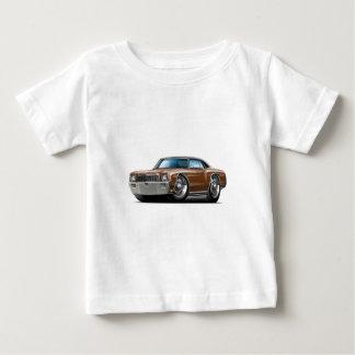 Camiseta Para Bebê Carro superior Brown-Preto de Monte 1971 - de
