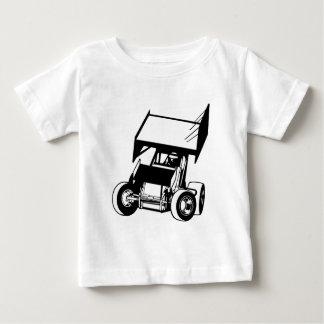 Camiseta Para Bebê Carro voado do sprint