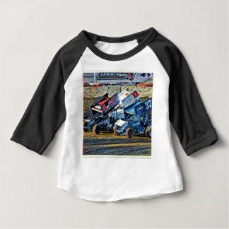 Camiseta Para Bebê Carros de corridas