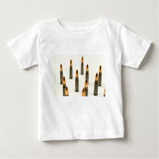 Camiseta Para Bebê Cartucho 7.62x39 de AK47 da bala da munição de