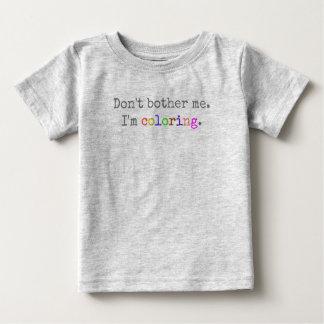 Camiseta Para Bebê Casa do original da garça-real:  Não me incomode