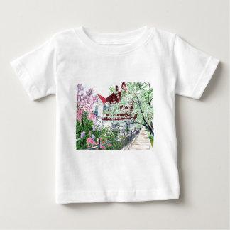 Camiseta Para Bebê Casa do Victorian de Eureka Springs