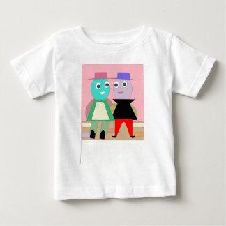 Camiseta Para Bebê casais humpty