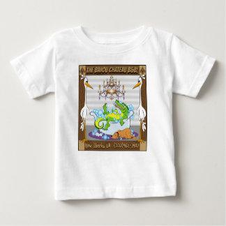 Camiseta Para Bebê Castelo da albufeira do bebê