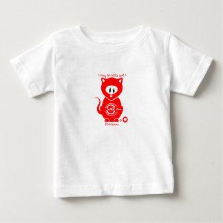 Camiseta Para Bebê CAT de CHAKRA - Eu sou PRECIOSO - RAIZ