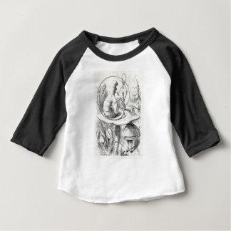 Camiseta Para Bebê Caterpiller fuma um ushrooa do am do cachimbo de