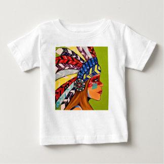Camiseta Para Bebê Cattail Kali