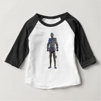 Camiseta Para Bebê Cavaleiro que está e que olha para a frente