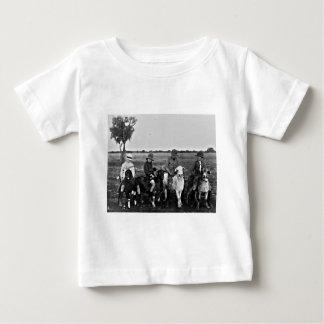 Camiseta Para Bebê Cavaleiros da cabra do passado
