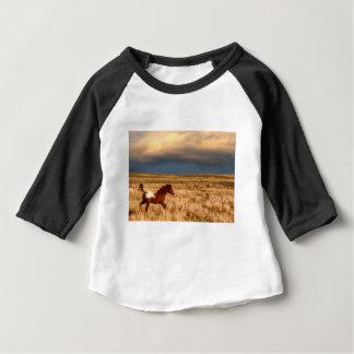 Camiseta Para Bebê Cavalo apenas
