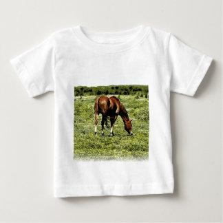 Camiseta Para Bebê Cavalo da azeda
