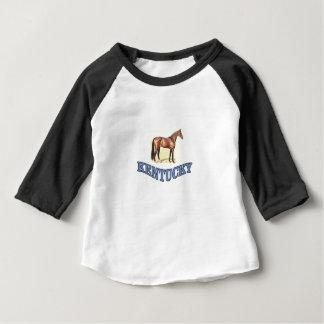 Camiseta Para Bebê Cavalo de Kentucky