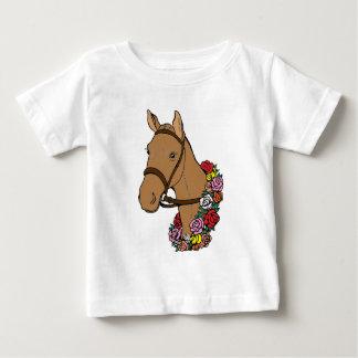 Camiseta Para Bebê Cavalo do campeão