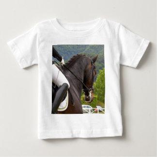 Camiseta Para Bebê Cavalo Dressage