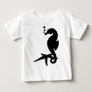 Camiseta Para Bebê Cavalo marinho