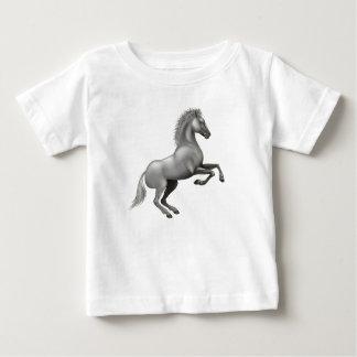 Camiseta Para Bebê Cavalo selvagem