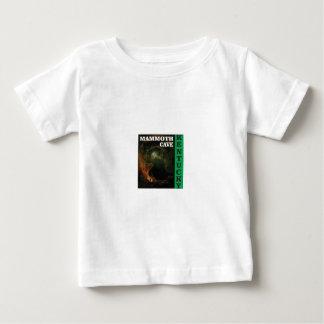 Camiseta Para Bebê Caverna gigantesca verde Kentucky