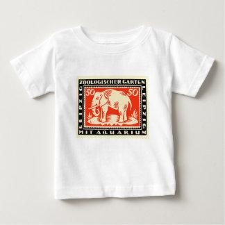 Camiseta Para Bebê Cédula 1919 de Notgeld do jardim zoológico de