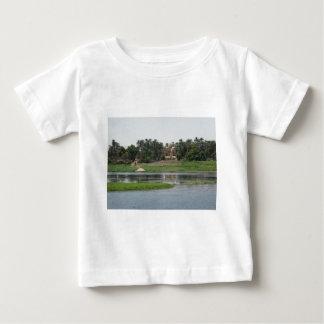 Camiseta Para Bebê Cena de Nile do rio