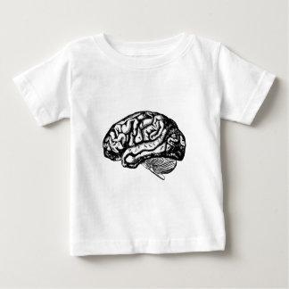 Camiseta Para Bebê cérebro humano
