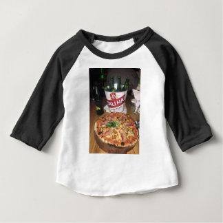 Camiseta Para Bebê Cerveja e pizza de Bali
