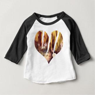 Camiseta Para Bebê Cervo do risco