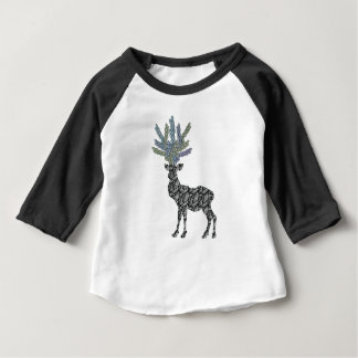 Camiseta Para Bebê cervos