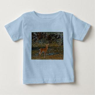 Camiseta Para Bebê Cervos astutos
