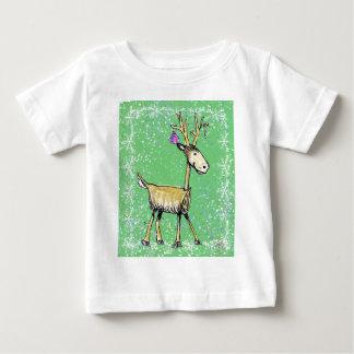 Camiseta Para Bebê Cervos do feriado da vara