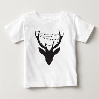 Camiseta Para Bebê Cervos do Natal * t-shirt dos miúdos