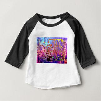 Camiseta Para Bebê Céu azul