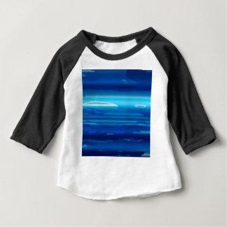 Camiseta Para Bebê Céu azul abstrato