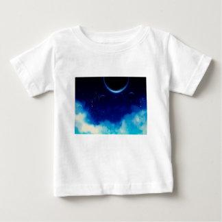 Camiseta Para Bebê Céu nocturno estrelado