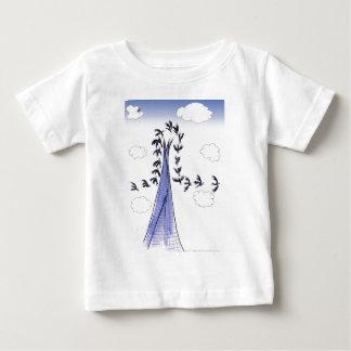 Camiseta Para Bebê Céus azuis de ShardArt por Tony Fernandes