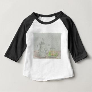 Camiseta Para Bebê chá com hortelã