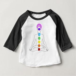 Camiseta Para Bebê Chakras