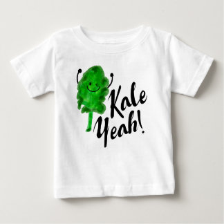 Camiseta Para Bebê Chalaça positiva da couve - couve yeah!