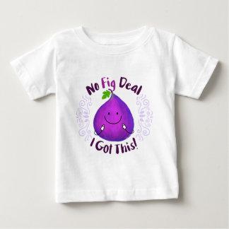 Camiseta Para Bebê Chalaça positiva do figo - nenhum negócio do figo