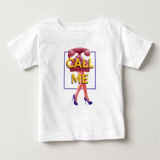 Camiseta Para Bebê Chame-me