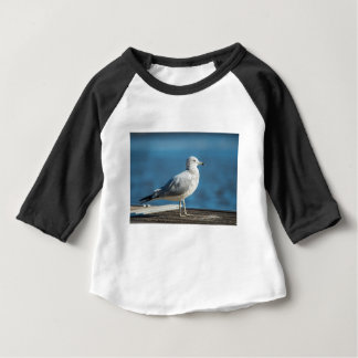 Camiseta Para Bebê Chame-me M.Seagull