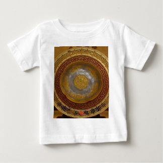 Camiseta Para Bebê Chapa chinesa da flor
