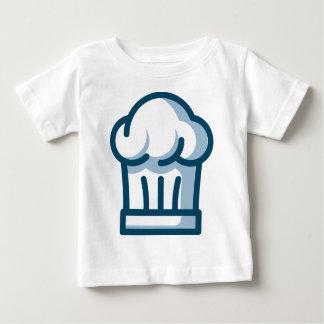 Camiseta Para Bebê Chapéu dos cozinheiros chefe