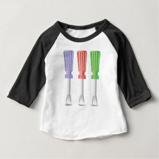 Camiseta Para Bebê chaves de fenda