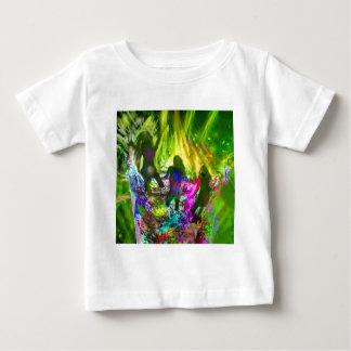 Camiseta Para Bebê Cheio da noite do partido da alegria