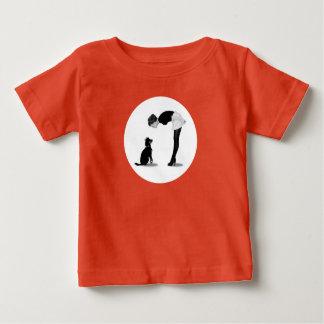 Camiseta Para Bebê Chica