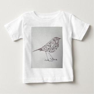 Camiseta Para Bebê Chickadee